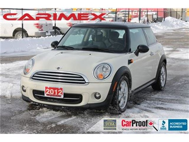 2012 MINI COOPER Bluetooth   Heated Seats   Sunroof   CERTIFIED in Kitchener, Ontario