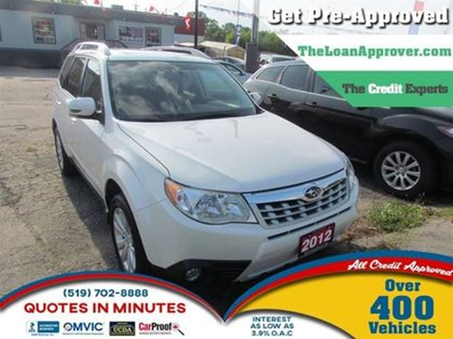 2012 SUBARU FORESTER 2.5X * AWD * POWER ROOF in London, Ontario