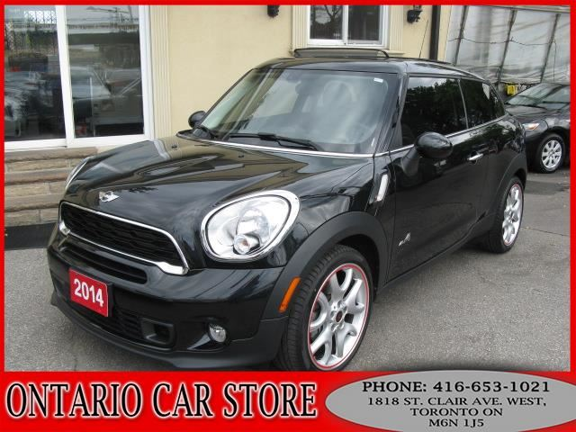 2014 mini cooper s paceman all4 1 owner toronto ontario used car for sale 2656265. Black Bedroom Furniture Sets. Home Design Ideas