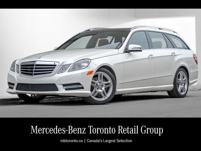 2013 mercedes benz e350 4matic wagon diamond white met for Mercedes benz downtown