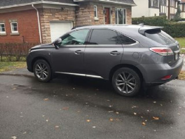 2015 lexus rx 350 f sport awd mississauga ontario used. Black Bedroom Furniture Sets. Home Design Ideas