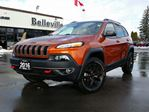 2016 Jeep Cherokee Trailhawk-Safety Tec group in Belleville, Ontario