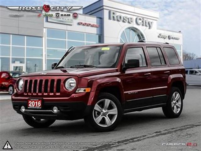 2016 jeep patriot north company car low mileaage welland ontario used car for sale 2657413. Black Bedroom Furniture Sets. Home Design Ideas