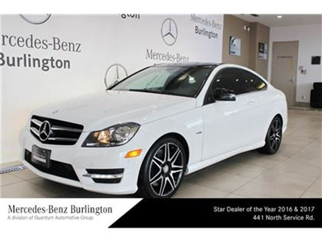 2014 mercedes benz c250 coupe burlington ontario used. Black Bedroom Furniture Sets. Home Design Ideas