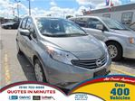 2015 Nissan Versa 1.6 SV   CAM   SAT RADIO   ONE OWNER in London, Ontario