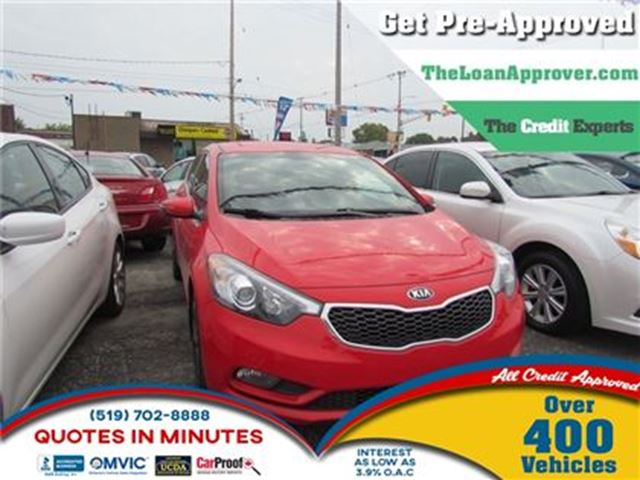 2014 KIA Forte 2.0L EX   CAM   HEATED SEATS   SAT RADIO in London, Ontario