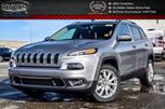 2017 Jeep Cherokee NEW Car Limited Navi Backup Cam Leather Bluetooth R-Start 18Alloy Rims in Bolton, Ontario