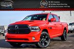 2017 Dodge RAM 1500 Night Edition Sport Hood Navi Sunroof B.Up Cam in Bolton, Ontario