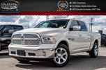 2017 Dodge RAM 1500 Laramie Eco Diesel Navi Remote Start Park Assist in Bolton, Ontario