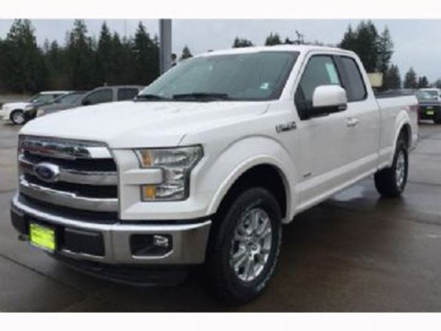 2016 Ford F 150 4wd Xlt Supercrew 145 White Lease