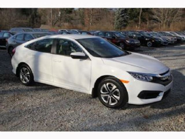 2017 honda civic sedan lx w full term warranty online special white lease busters. Black Bedroom Furniture Sets. Home Design Ideas