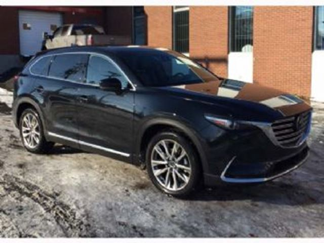 2016 mazda cx 9 gt tech awd 7 passenger mississauga ontario used car for sale 2657708. Black Bedroom Furniture Sets. Home Design Ideas