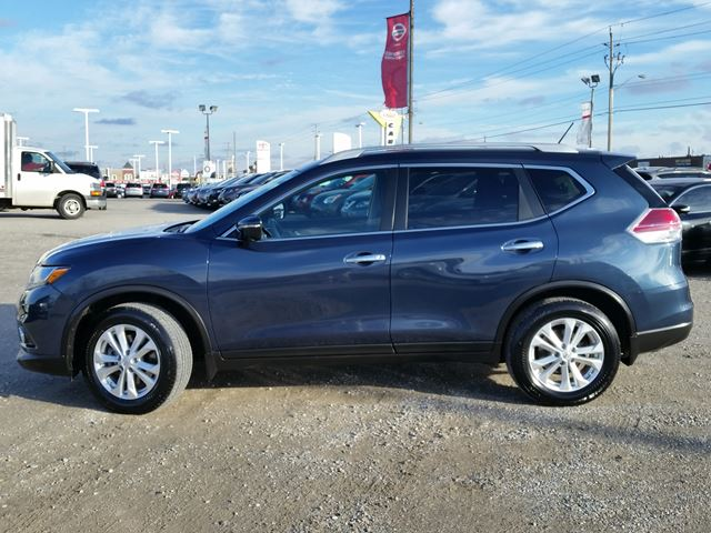 used 2015 nissan rogue sv awd w 3rd row pan roof heated seats nav rear cam cambridge. Black Bedroom Furniture Sets. Home Design Ideas