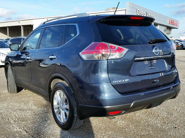 2015 nissan rogue sv awd w 3rd row pan roof heated seats nav rear cam blue for 27222 in. Black Bedroom Furniture Sets. Home Design Ideas