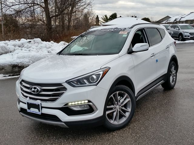 2017 hyundai santa fe limited awd 4000 off orillia ontario new car for sale 2657442. Black Bedroom Furniture Sets. Home Design Ideas
