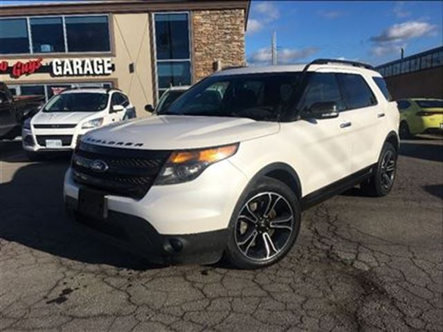 2014 ford explorer loaded up sport model leather nav ecoboost st catharines ontario used car. Black Bedroom Furniture Sets. Home Design Ideas