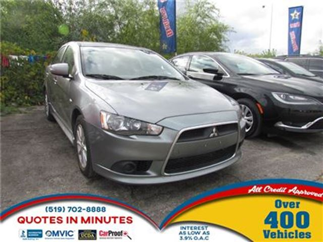 2015 MITSUBISHI LANCER SE   BLUETOOTH   POWER SEATS   ONE OWNER in London, Ontario