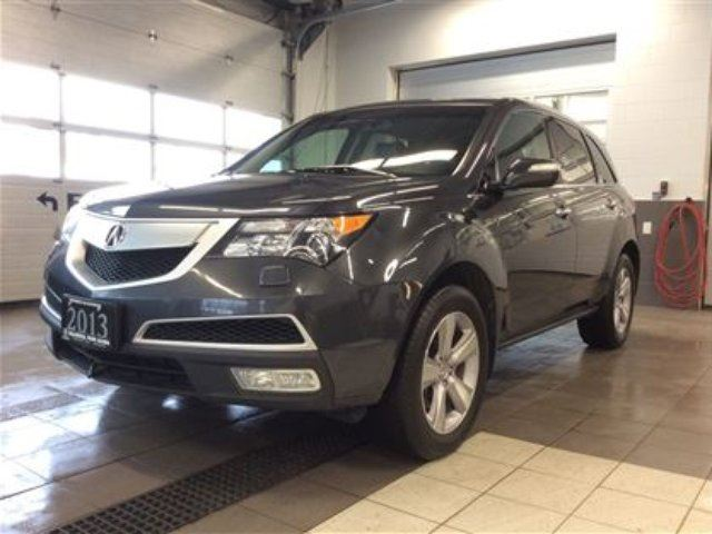 2013 acura mdx tech awd dvd nav mint thunder bay. Black Bedroom Furniture Sets. Home Design Ideas