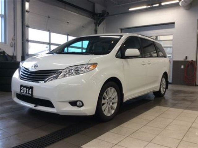 2014 Toyota Sienna XLE AWD - DVD screens - LOADED!! in Thunder Bay, Ontario