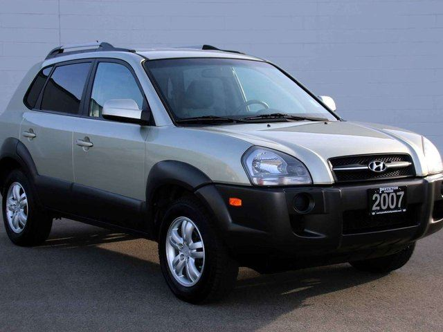 2007 hyundai tucson gl v6 4dr front wheel drive kelowna. Black Bedroom Furniture Sets. Home Design Ideas