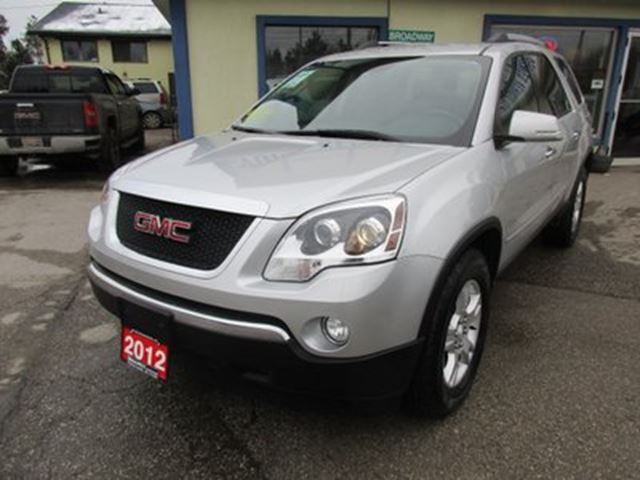 2012 GMC Acadia PEOPLE MOVING SLE MODEL 8 PASSENGER 3.6L - V6 E in Bradford, Ontario