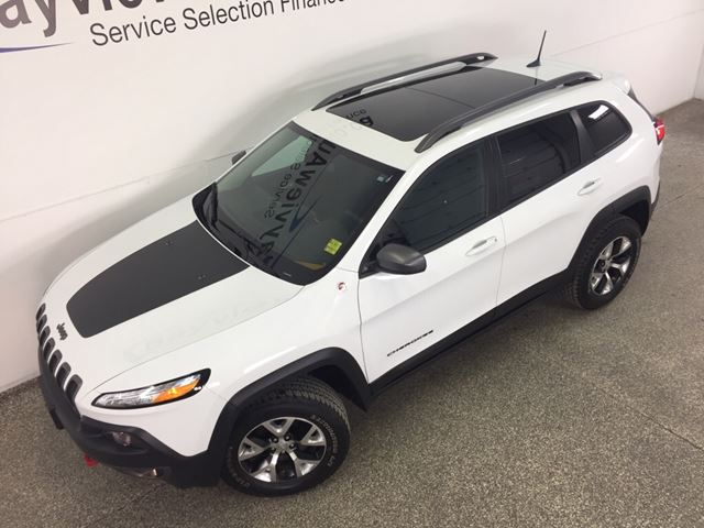 2016 jeep cherokee trailhawk 4x4 remote start leather. Black Bedroom Furniture Sets. Home Design Ideas