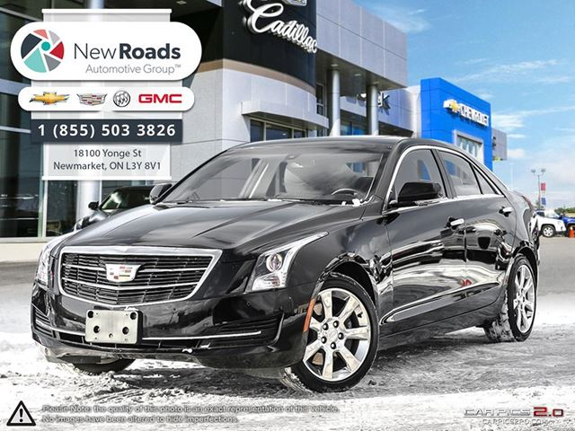 2016 cadillac ats 2 0l turbo luxury collection lux 2 0t awd lthr snrf cue black new roads. Black Bedroom Furniture Sets. Home Design Ideas