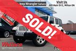 2014 Jeep Wrangler Unlimited Sahara/LESS THAN 28,000KMS!/TOW PACK/NAV in Milton, Ontario