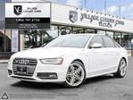 2014 Audi S4 3.0 Progressiv BALANCE OF FACTORY WARRANTY | ONE OWNER | CLEAN CARPROOF in Markham, Ontario