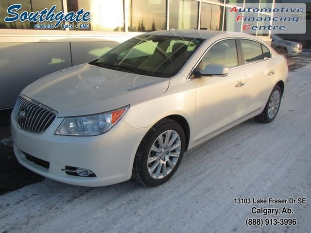 2013 buick lacrosse luxury calgary alberta used car for sale 2658916. Black Bedroom Furniture Sets. Home Design Ideas