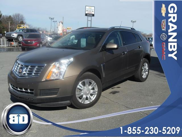 2014 cadillac srx luxury granby quebec used car for sale 2658214. Black Bedroom Furniture Sets. Home Design Ideas