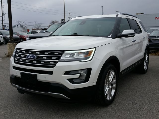 2016 ford explorer limited scarborough ontario used car. Black Bedroom Furniture Sets. Home Design Ideas