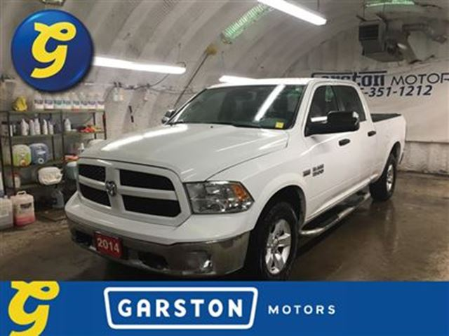 2014 ram 1500 outdoorsman crew cab 5 7l hemi 4x4 tow haul mode e white garston motors. Black Bedroom Furniture Sets. Home Design Ideas