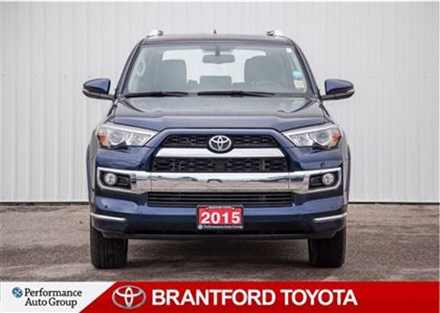 2015 toyota 4runner limited one owner 4x4 rare runner brantford ontario used car for. Black Bedroom Furniture Sets. Home Design Ideas