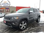 2015 Jeep Grand Cherokee LIMITED**SUNROOF**LEATHER**8.4 TOUCHSCREEN**NAVIGA in Mississauga, Ontario