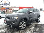 2015 Jeep Grand Cherokee LIMITED**SUNROOF**LEATHER**NAVIGATION**8.4 TOUCHSC in Mississauga, Ontario