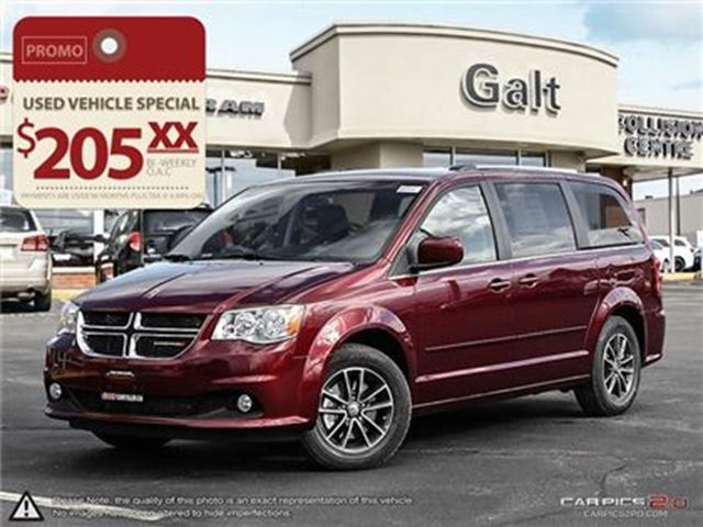 2017 Dodge Grand Caravan Sxt Premium Plus Bluetooth Dvd