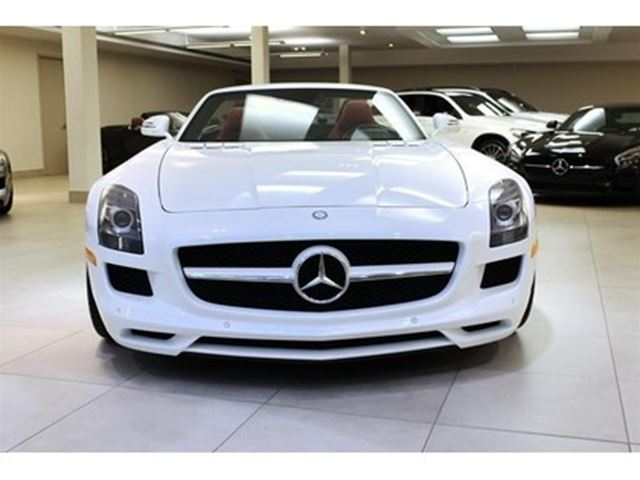 2012 mercedes benz sls amg roadster burlington ontario. Black Bedroom Furniture Sets. Home Design Ideas