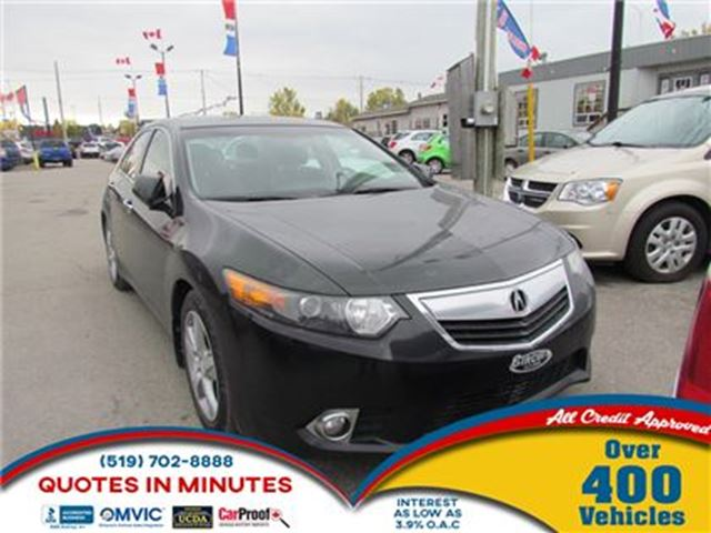 2012 ACURA TSX Premium   LEATHER   ROOF   HEATED SEATS   SAT RADI in London, Ontario