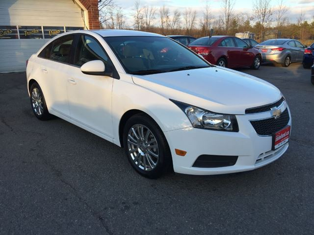 2012 chevrolet cruze eco w 1sa bowmanville ontario used car for sale 2659452. Black Bedroom Furniture Sets. Home Design Ideas