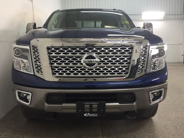 2016 nissan titan platinum reserve 5l cummins turbo leather nav belleville ontario used. Black Bedroom Furniture Sets. Home Design Ideas