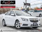 2013 Chevrolet Cruze ONLY 62K! **BACK-UP CAM** LEATHER **CLN CARPROOF** in Scarborough, Ontario