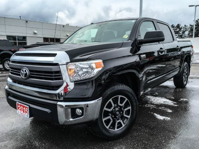 2015 toyota tundra crewmax trd cobourg ontario used car for sale 2659603. Black Bedroom Furniture Sets. Home Design Ideas