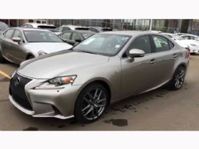2015 lexus is 250 f sport 2 awd mississauga ontario used car for sale 2659954. Black Bedroom Furniture Sets. Home Design Ideas