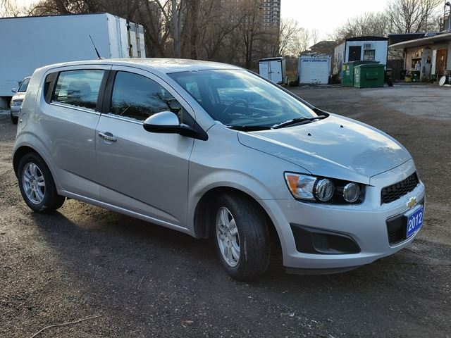 2012 chevrolet sonic lt whitby ontario used car for. Black Bedroom Furniture Sets. Home Design Ideas