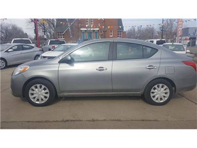 2014 nissan versa s edmonton alberta used car for sale. Black Bedroom Furniture Sets. Home Design Ideas