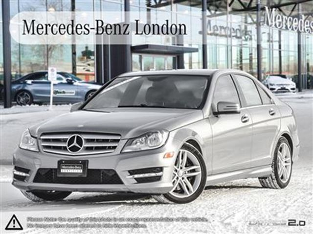 2013 Mercedes Benz C Class C300 4matic Sedan London