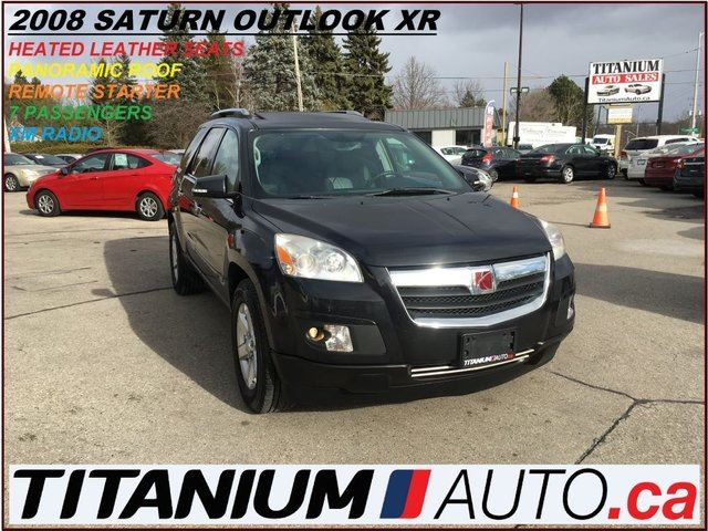 2008 SATURN OUTLOOK XR+7 Passengers+Pano Roof+Leather Heated Seats++++ in London, Ontario