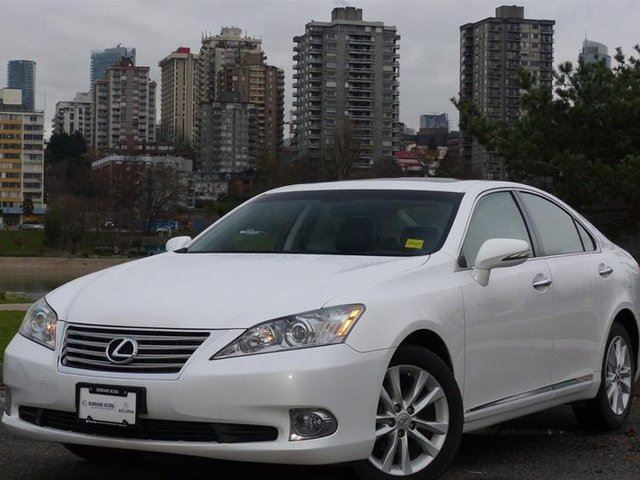 2011 lexus es 350 6a vancouver british columbia used. Black Bedroom Furniture Sets. Home Design Ideas