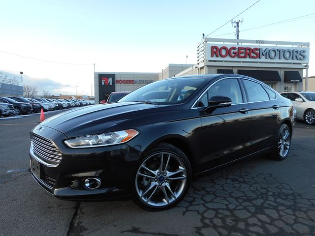 2014 ford fusion titanium ecoboost awd black rogers motors. Black Bedroom Furniture Sets. Home Design Ideas